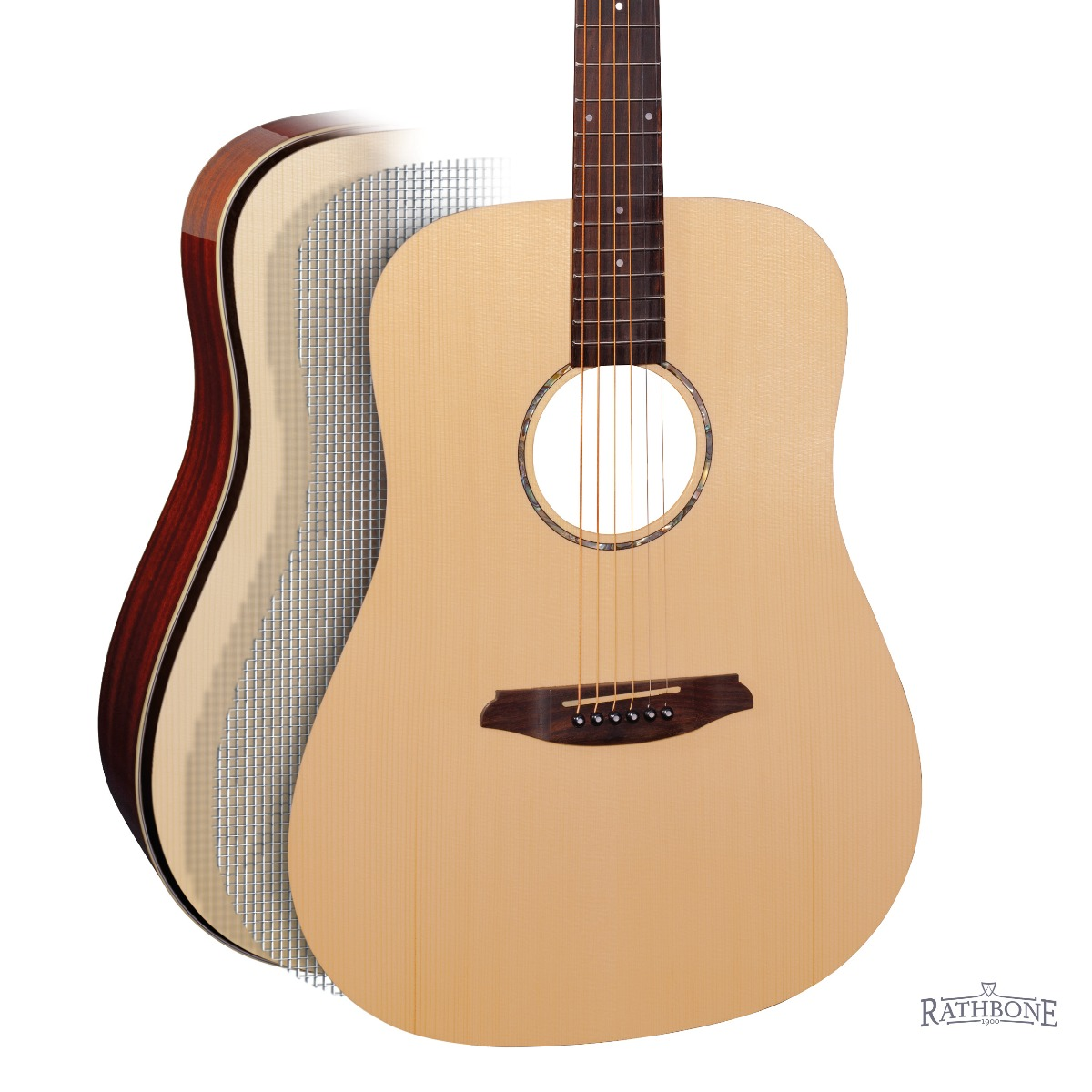 Rathbobne Double-Top Acoustic Guitar